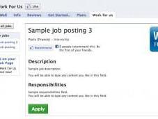 Créez Bureau Recrutement Facebook