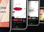 Virtual Palette, l'application maquillage Lancôme