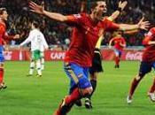 Huitièmes finale victoire l'Espagne contre Portugal grâce David Villa, Espagnols qualifiés pour quarts-de-finale