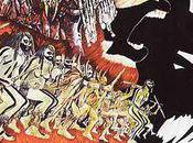 Guerre Feu: autour hommes préhistoriques