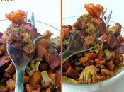 Poêlée légumes chorizo