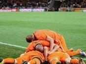 Demi-finales victoire Pays-Bas buts contre l'Uruguay, Hollandais qualifiés pour finale Mondial 2010