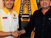 Robert Kubica avec Renault jusque 2012
