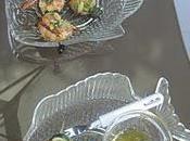 Tapas crevettes d'un samedi après-midi d'été