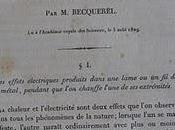Bibliophilie Sciences: famille physiciens, Bécquerel