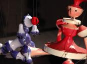 Grand thÊâtre marionnettes pour tout petits