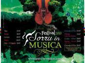 Sorru Musica 2010 jusqu'au Juillet programme