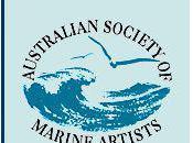Peintres australiens marine -Carnet liens Australian Society Marine Artists- Links book