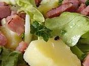 Salade jambon fumé pomme verte