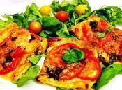 Feuilleté tomates mozzarella basilic