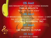 Festival Coti-Chiavari jusqu' demain programme.