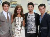 Jonas Brothers première Camp Rock avec Demi Lovato (PHOTO)