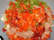 Courgettes farcies hachi poulet