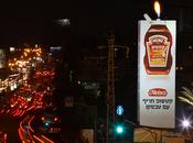 Heinz Ketchup: Lighting Billboard