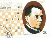 grands champions d'échecs timbres