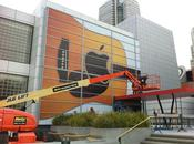 Keynote Special Event galerie d'art Yerta Buena s'habille façon Apple