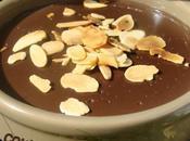 Crème chocolat noir amandes (sans oeuf)