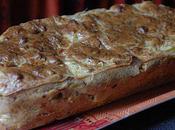 Cake épicé courgettes, thon, tomates séchées
