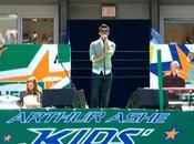 Jonas Brothers Demi Lovato scène pour l'ouverture l'US Open 2010
