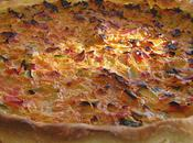 Tarte courgettes froides