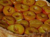 Tarte prunes caramel beurre salé