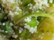Semoule asperges vertes citron vert