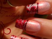 Water Marble French Nail