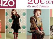 Kenzo Kids Collection automne-hiver 2010 promo
