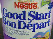 Alerte alimentaire Altération boîtes préparation pour nourrissons Nestlé Canada