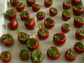 tomate cerise pesto