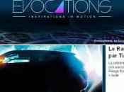 Evocations Inspirations Motion blog Range Rover Evoque