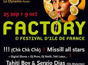 Festival Factory 25sept-9oct