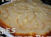 Gâteau Poires Fromage Blanc
