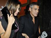 Photos George Clooney Elisabetta Canalis croisé paparazzi