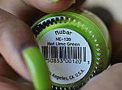 [Swatch polish] lime green Nubar