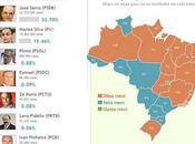 Présidentielle Brésil route vers second tour
