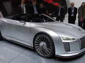 Mondial l'Auto Audi e-Tron spyder