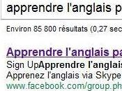 groupe Facebook devance site dans rankings Google