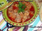 Moukh chtitha Cervelle sauce rouge
