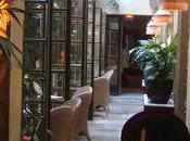 Dans patio l'hôtel Costes