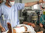 Afghanistan forte augmentation nombre blessés guerre l'hôpital Kandahar