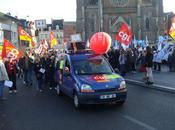 Contre réforme retraites 2500 personnes Saint-Quentin