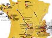 Tour France 2011 Carte