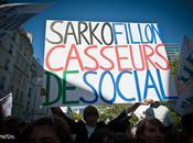 Manifestation lycéenne contre réforme retraites, Paris.