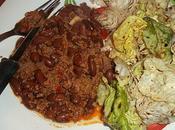 Chili carne façon
