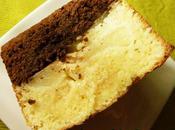 Gâteau moelleux fondant, chocolat noir, amandes, fourré poires
