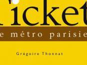 livre insolite L'histoire ticket métro