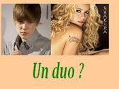 Justin Bieber avec Shakira