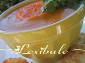 Soupe courge, gingembre l'orange