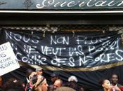 Guerlain..un zest racisme plus. Manif Paris